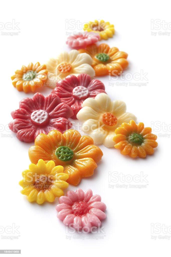 Baking Ingredients: Decoration royalty-free stock photo