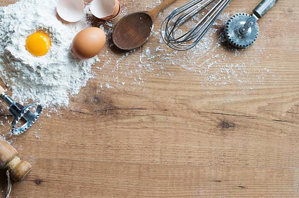 backen zutaten - kekskuchen stock-fotos und bilder