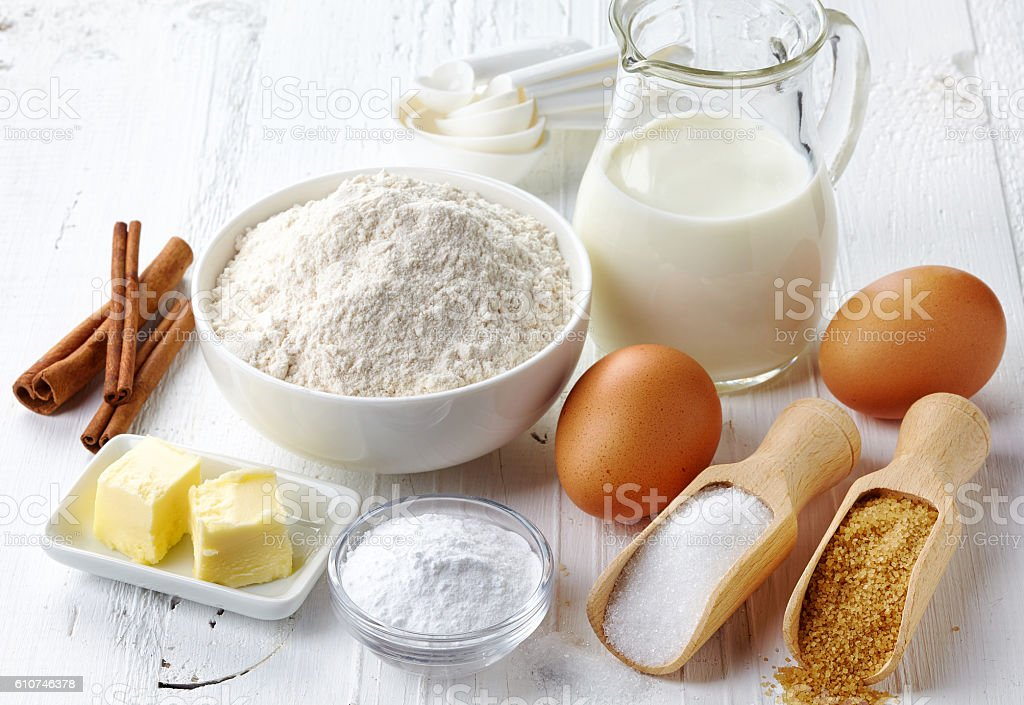 Assar ingredientes  - foto de acervo