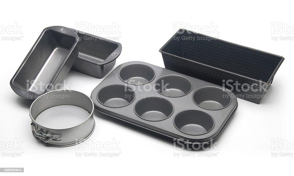 Baking pans royalty-free stock photo