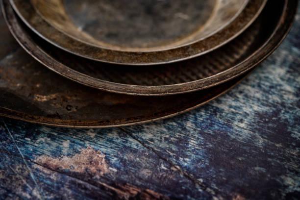 Baking Pans stock photo
