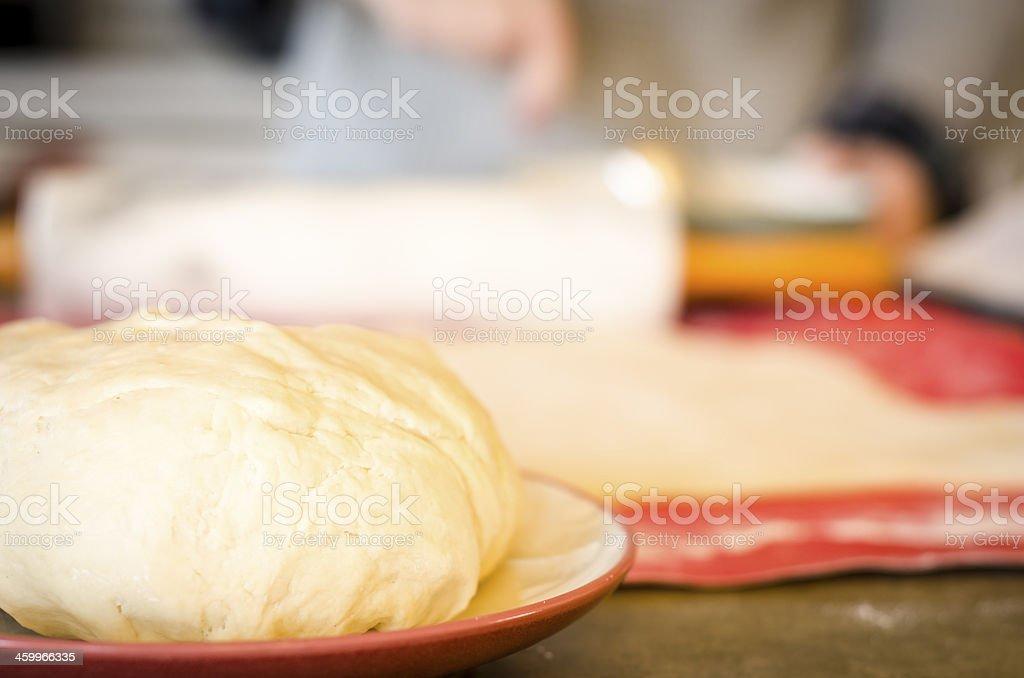 Baking Pies royalty-free stock photo