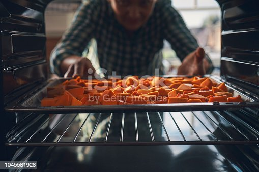 Baking Pumpkins in the Oven