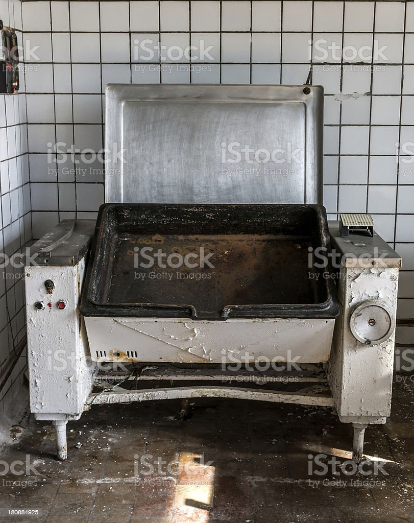 Baking sheet from the past royalty-free stock photo