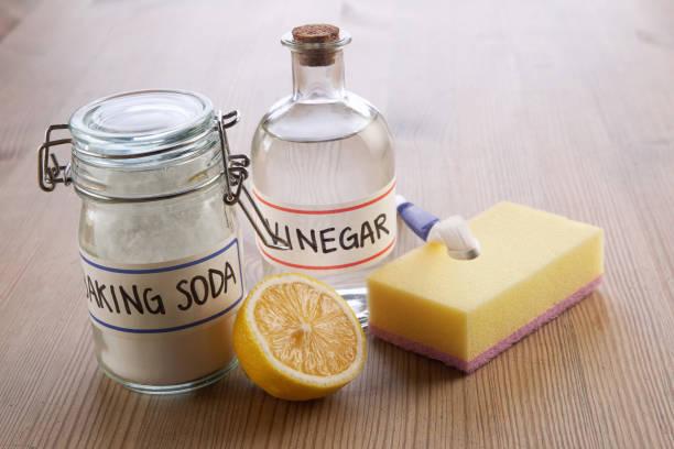 baking soda giấm chanh - kitchen sponge hình ảnh sẵn có, bức ảnh & hình ảnh trả phí bản quyền một lần