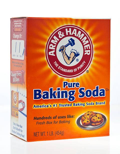 Bicarbonato de sodio - foto de stock