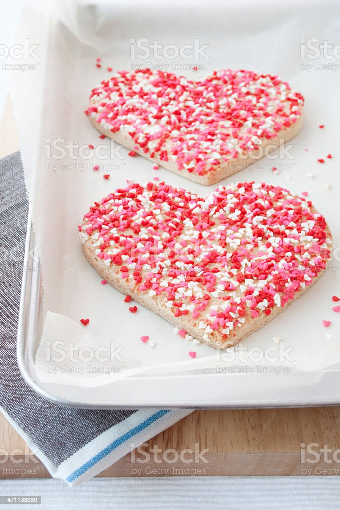 Baking some love royalty-free stock photo
