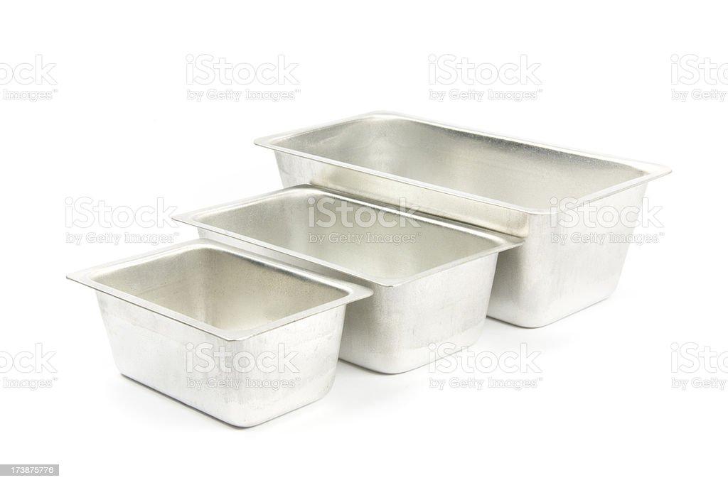 baking tins royalty-free stock photo
