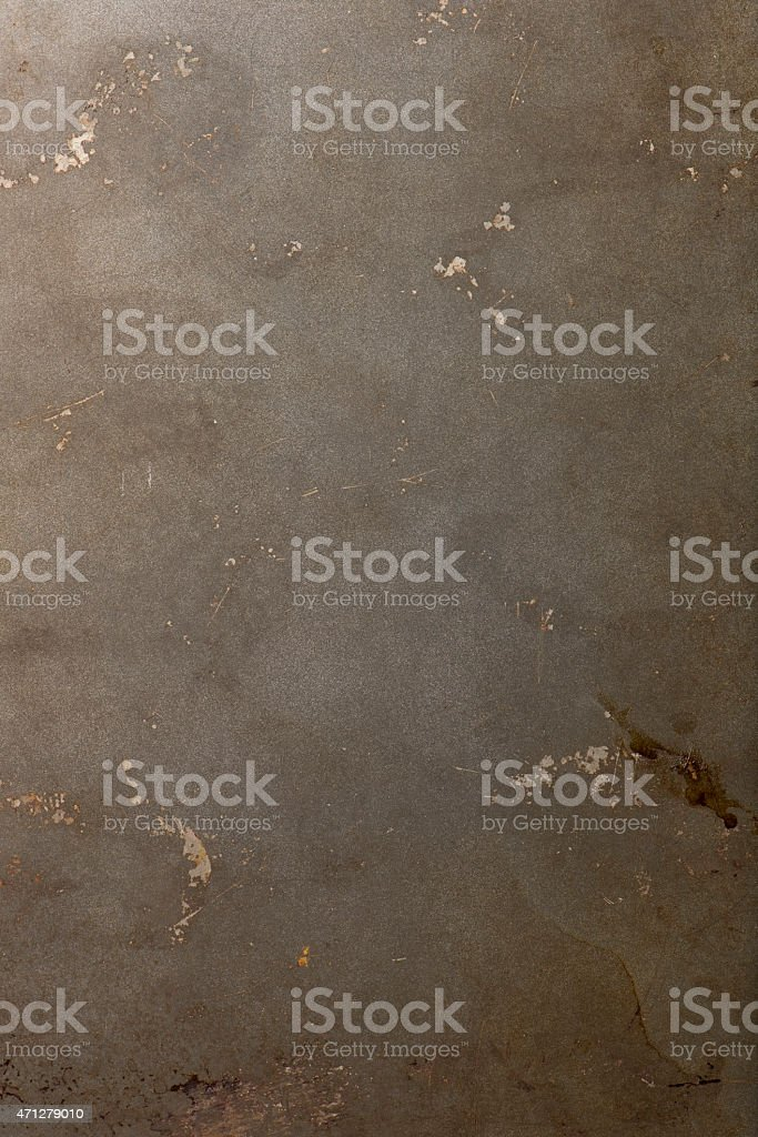 baking tray or pan as background object stock photo