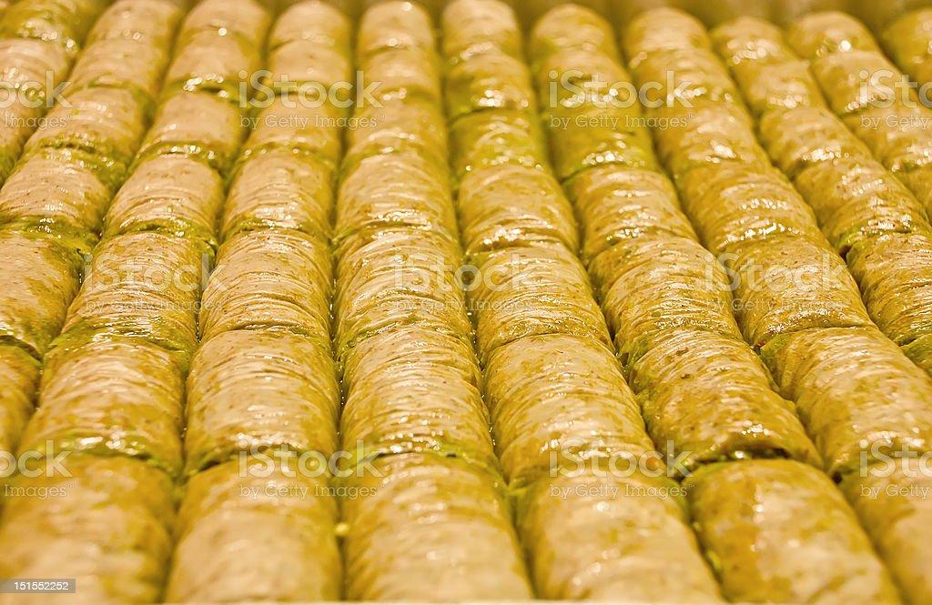 Baklava royalty-free stock photo