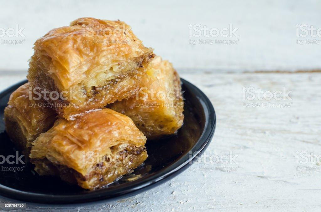 Baklava avec pistache - Photo