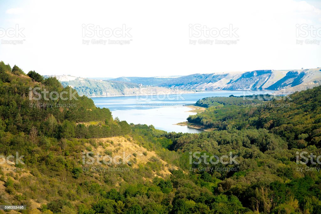Bakota, Kamenets district, Khmelnytsky region, Ukraine. royalty-free stock photo