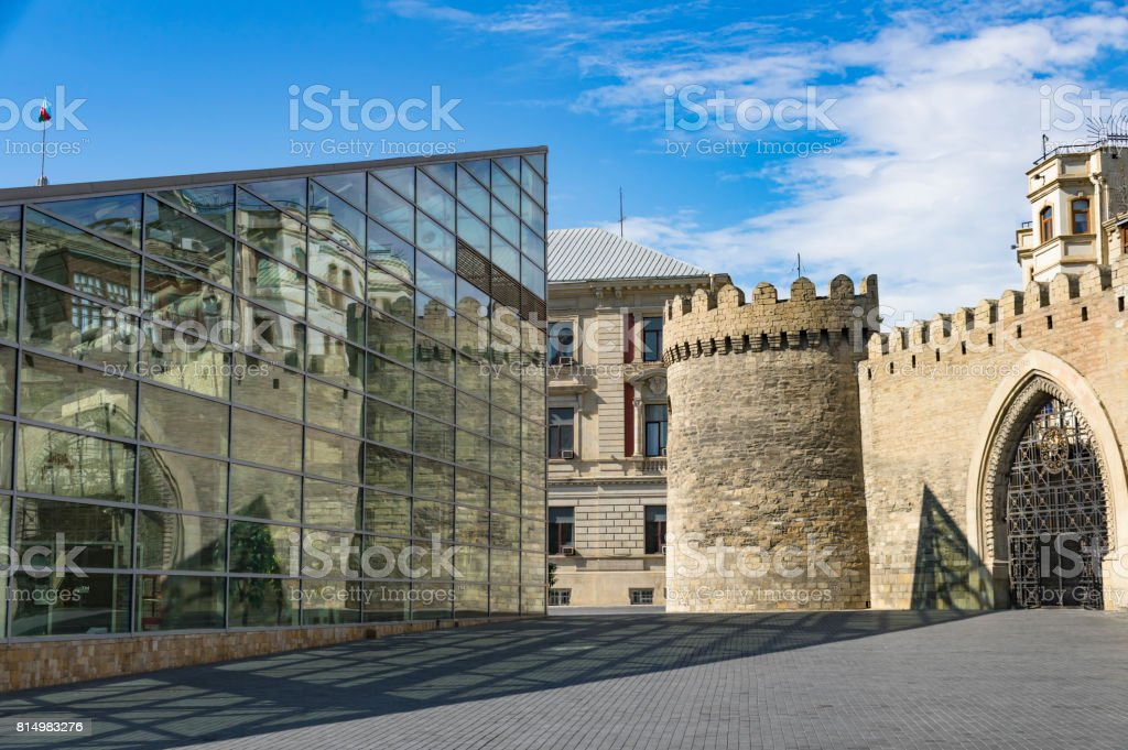 Bakı şəhəri royalty-free stock photo