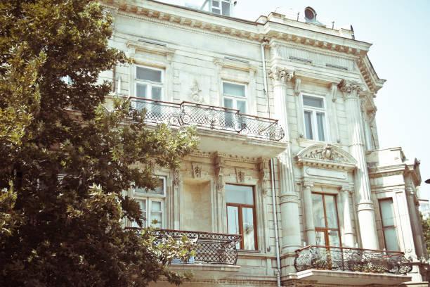 Baku city streets stock photo