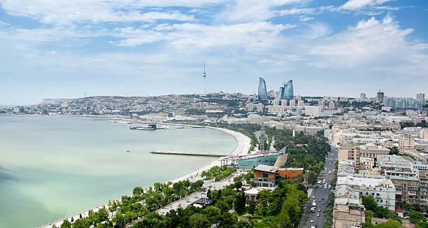 Baku stock photo