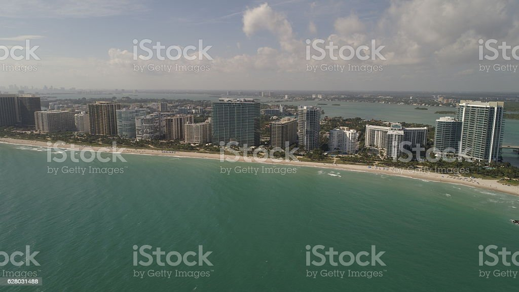 Bal Harbour Florida stock photo