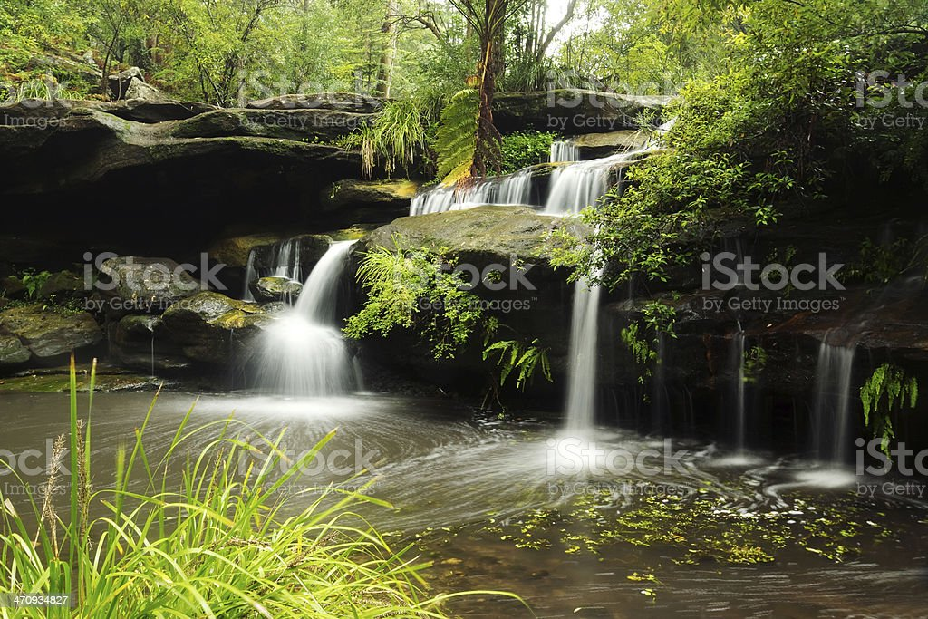 Balaka Falls, Carlingford, Sydney stock photo