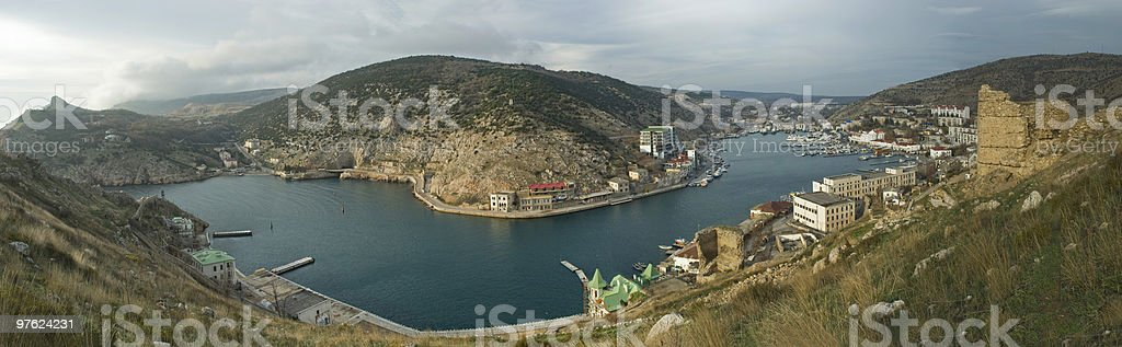 Balaklava panorama royalty-free stock photo