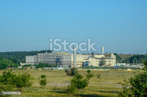 Balaklava Thermal Power Plant. New power station.