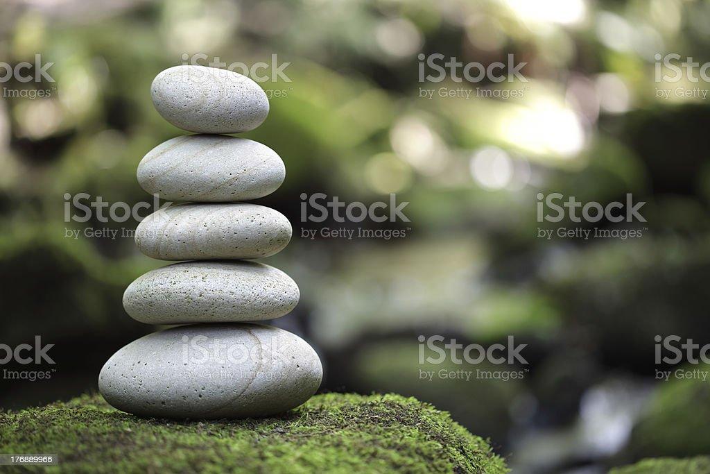 Balance and harmony in nature royalty-free stock photo