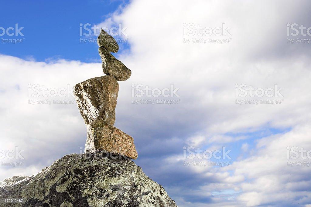 Balance and harmony royalty-free stock photo