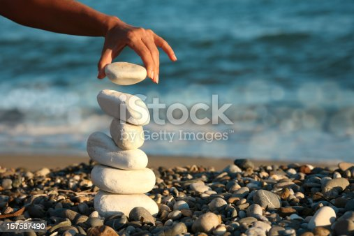 istock balance and woman 157587490