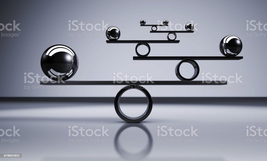 Balance Business Lifestyle Concept stock photo