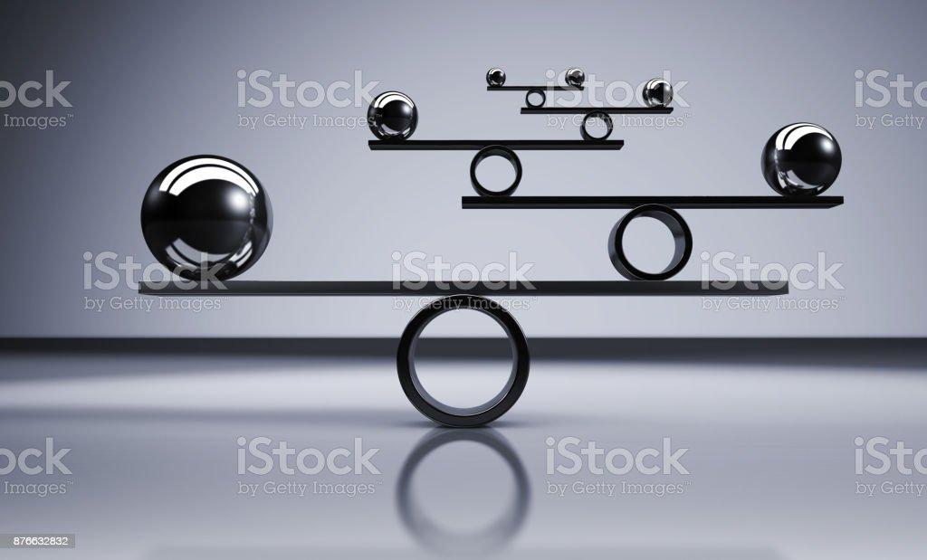 Concept d'équilibre Business Lifestyle - Photo