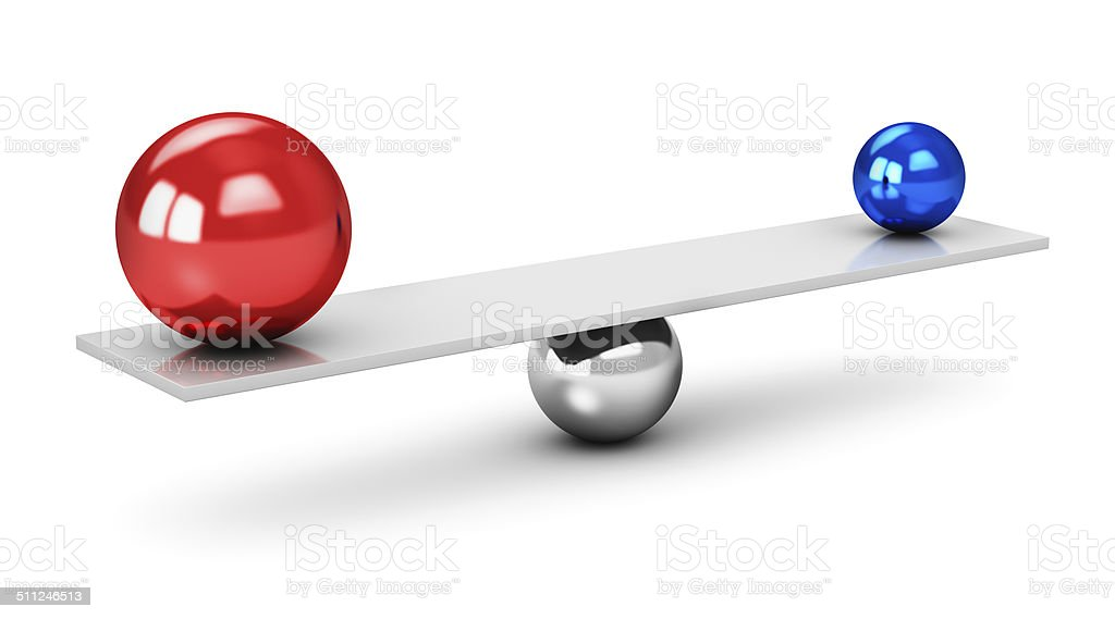Balance concept stock photo