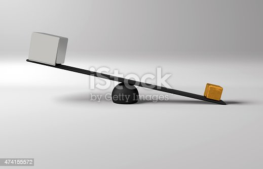 454380459 istock photo Balance Gold and Silver 474155572