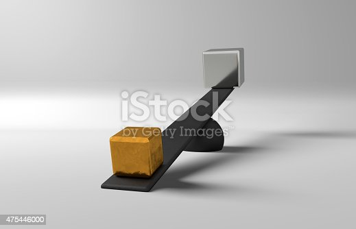 454380459 istock photo Balance Gold and Silver 475446000