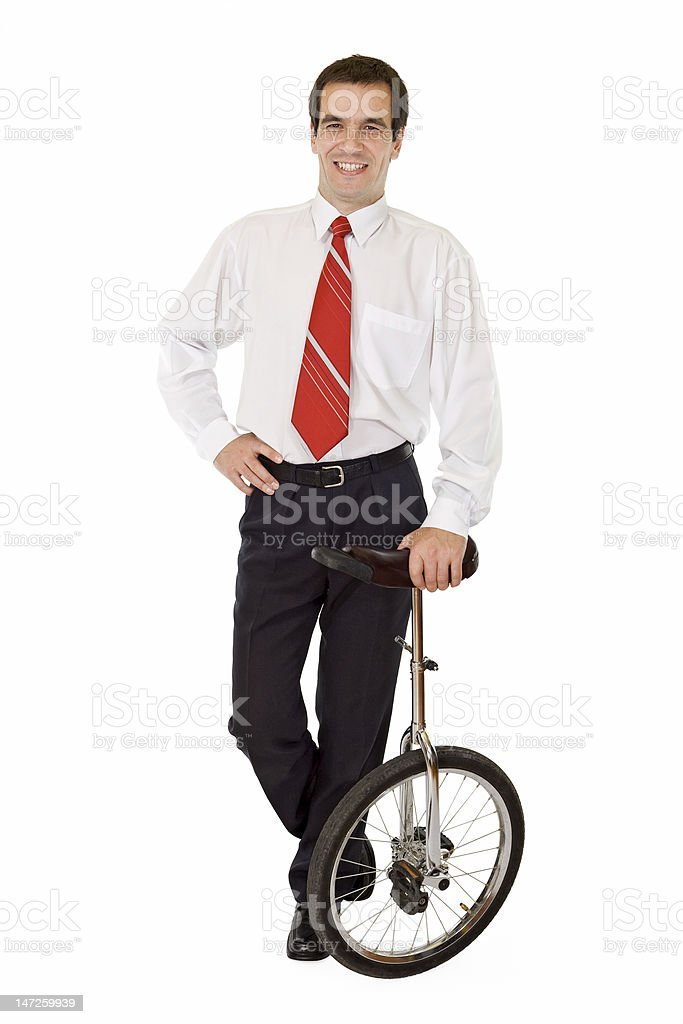 Balance in business cocnept royalty-free stock photo