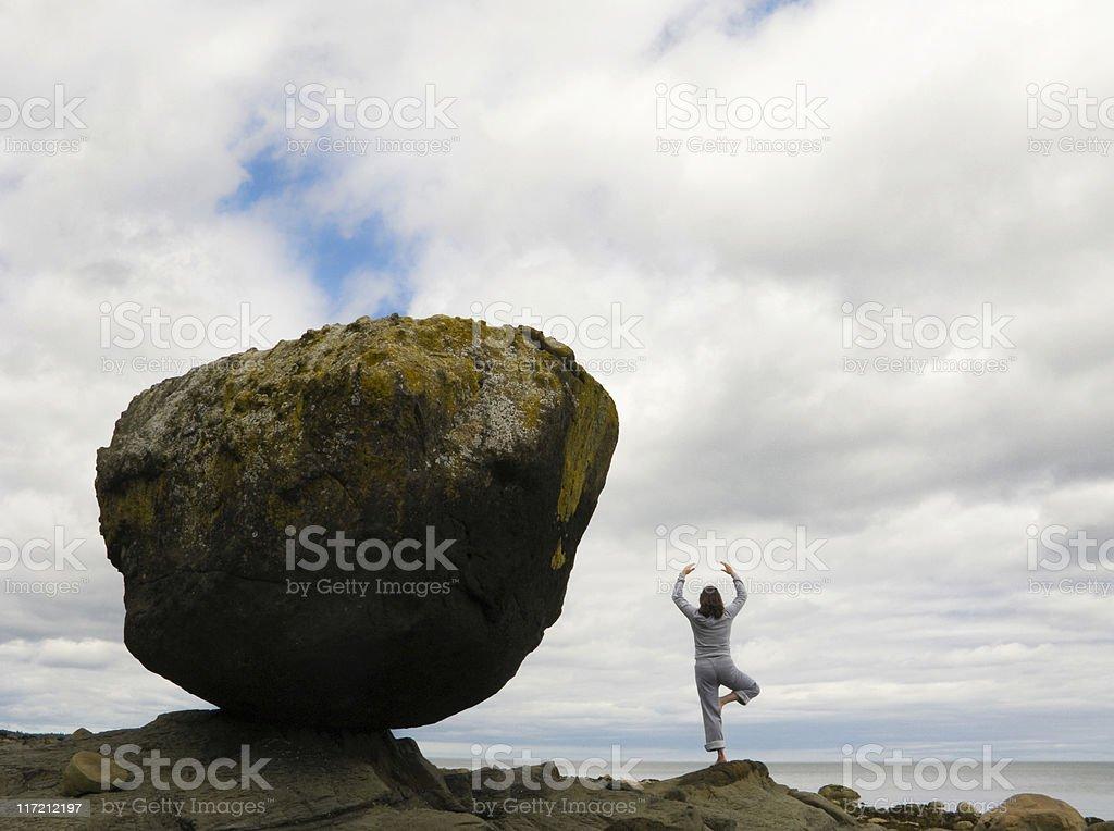 Balance in nature . . . stock photo