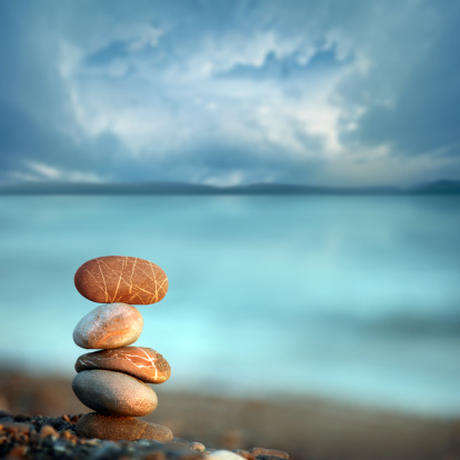 Balance In Peace Stock Photo - Download Image Now