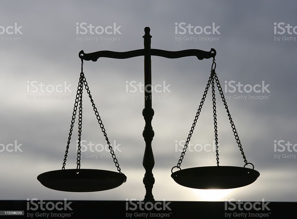 Balance, Justice, Libra 2 royalty-free stock photo