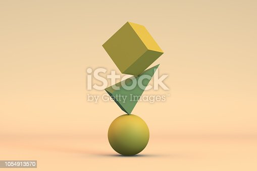 876632832 istock photo Balance, Minimal Concept 1054913570