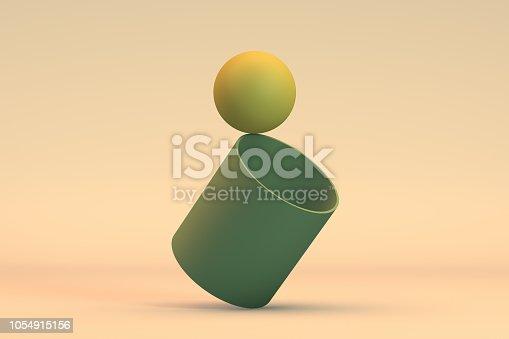 876632832 istock photo Balance, Minimal Concept 1054915156