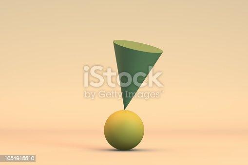 istock Balance, Minimal Concept 1054915510