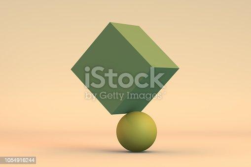 876632832 istock photo Balance, Minimal Concept 1054916244