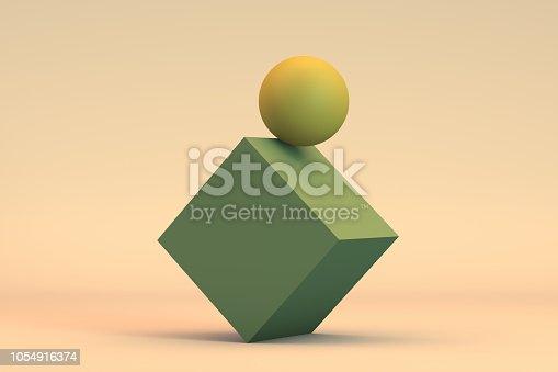 876632832 istock photo Balance, Minimal Concept 1054916374