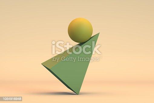 876632832 istock photo Balance, Minimal Concept 1054916948
