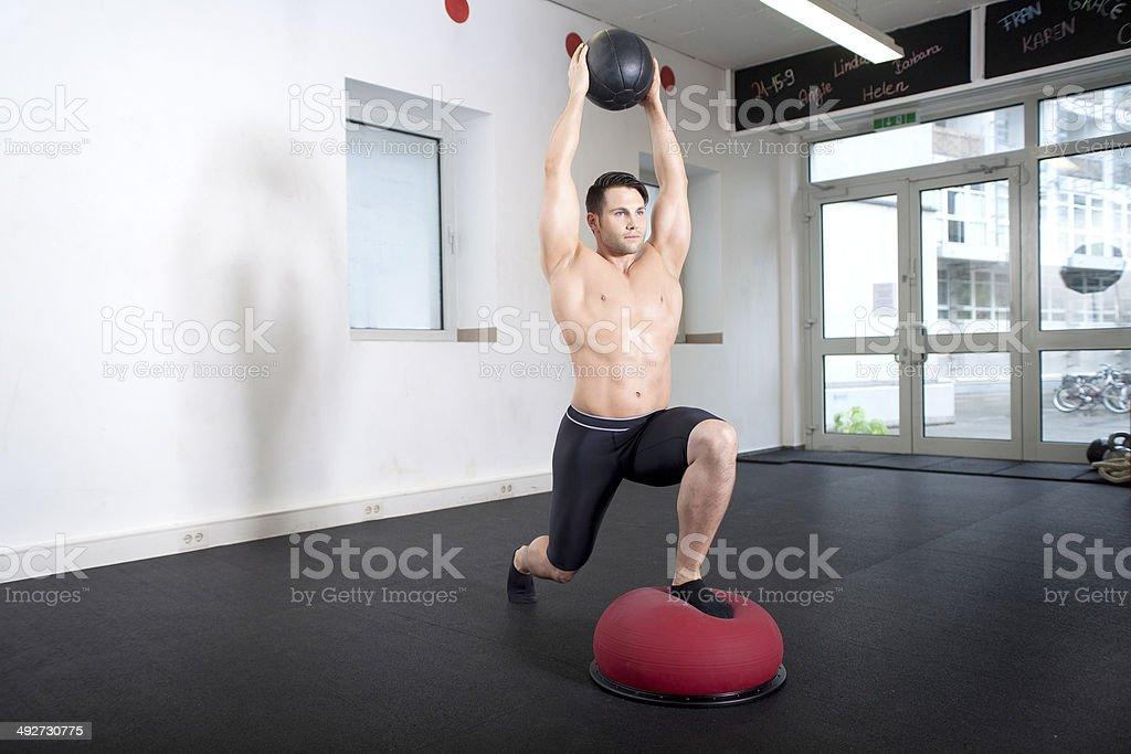 Entrenadoras de equilibrio de bola - Foto de stock de Actividades y técnicas de relajación libre de derechos