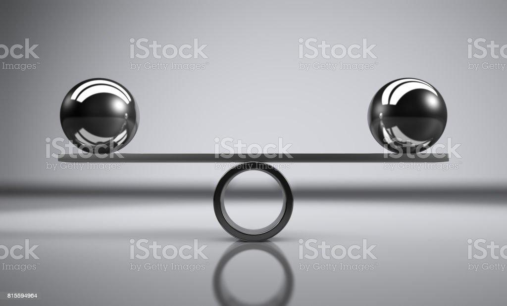 Balans bildbanksfoto