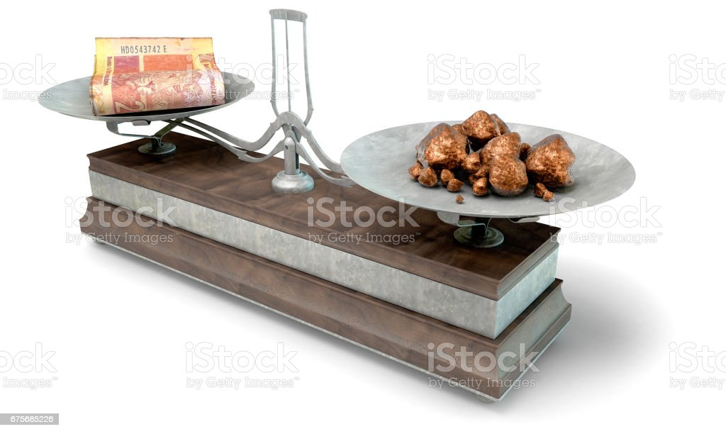 Balance Scale Comparison royalty-free stock photo
