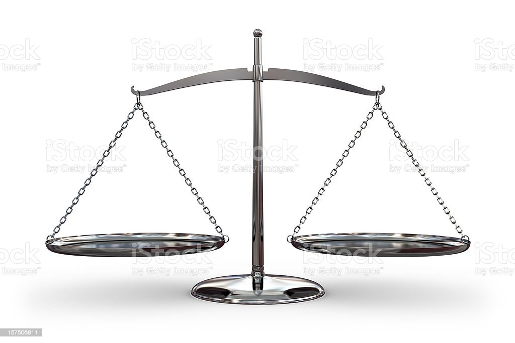 Balance Scale royalty-free stock photo