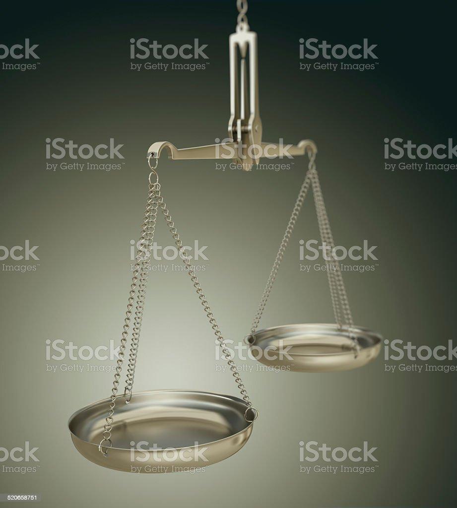Balance Scale stock photo