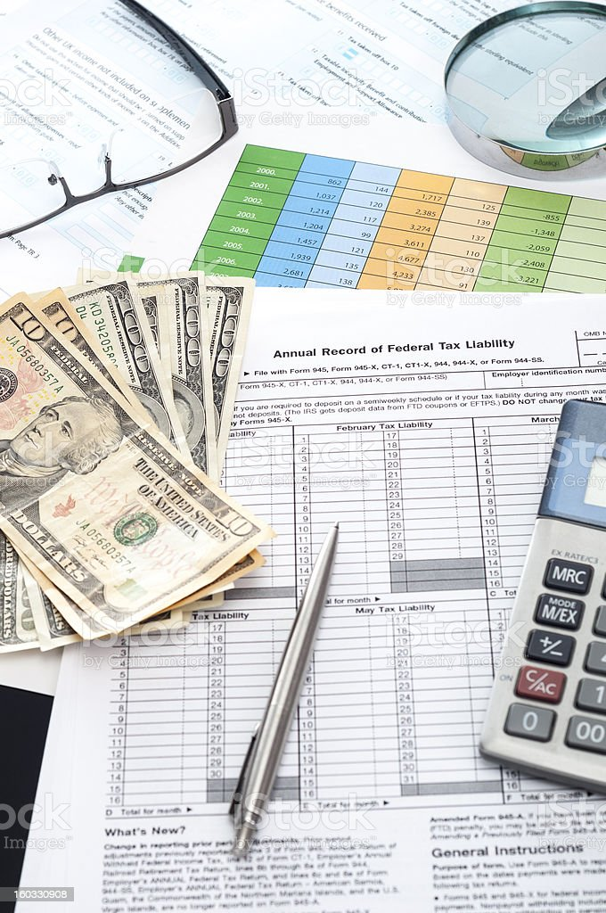Balance Sheet Money Data And Financial Figures In Business