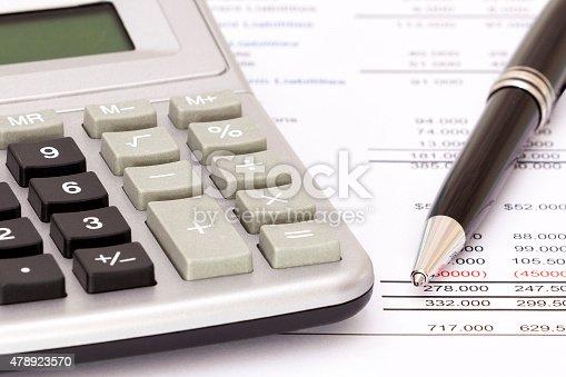 490632340 istock photo Balance sheet 478923570