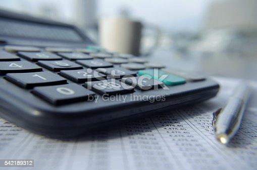 490632340 istock photo Balance Sheet 542189312