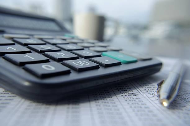 balance sheet - social security check stock photos and pictures